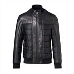 Rainforest Leather Blouson